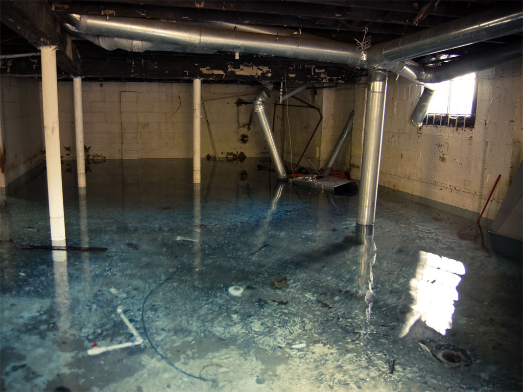 flooded basement basement water coverage may be complex the extent of